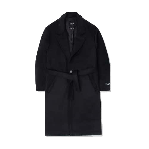 Heavy Wool Single Coat (black)(VB4CT001)