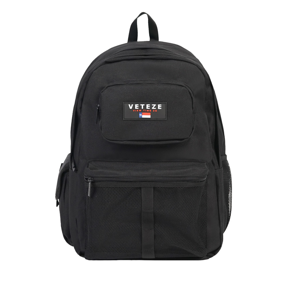 [7월1일 출고예정]RETRO SPORT BAG (black)