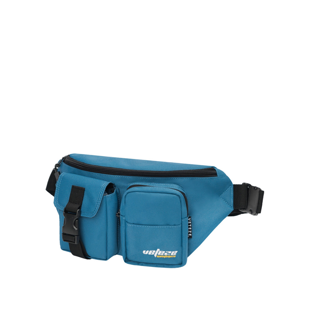 [바캉스 기획전]True Up Waist Bag (Steel Blue)
