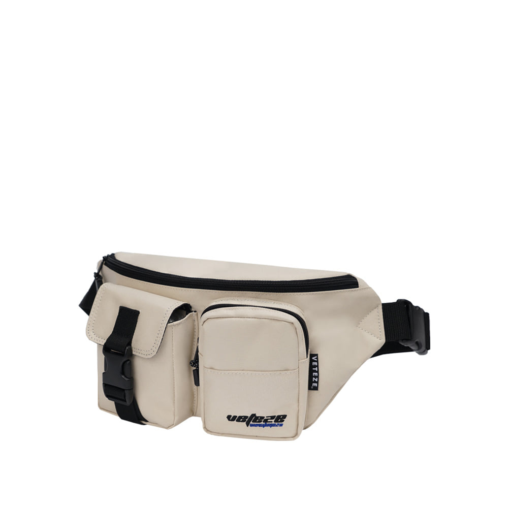 True Up Waist Bag (Light Beige)