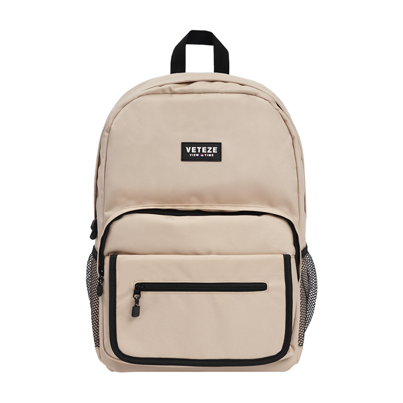 [9월20일 출고예정]Signature Backpack (beige)
