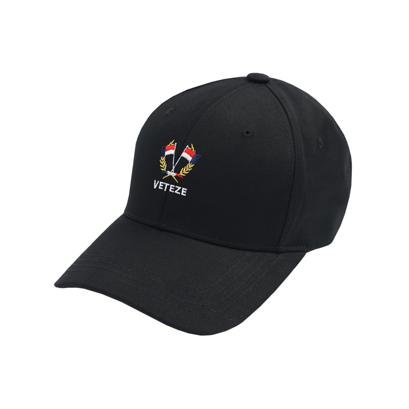 Flag Ball Cap (black)