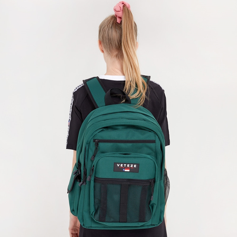 Retro Sport Bag 2 (green)