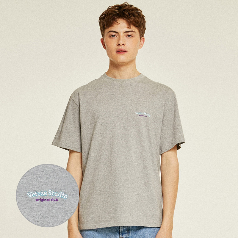[Season Off] Studio Half T-Shirts (gray)