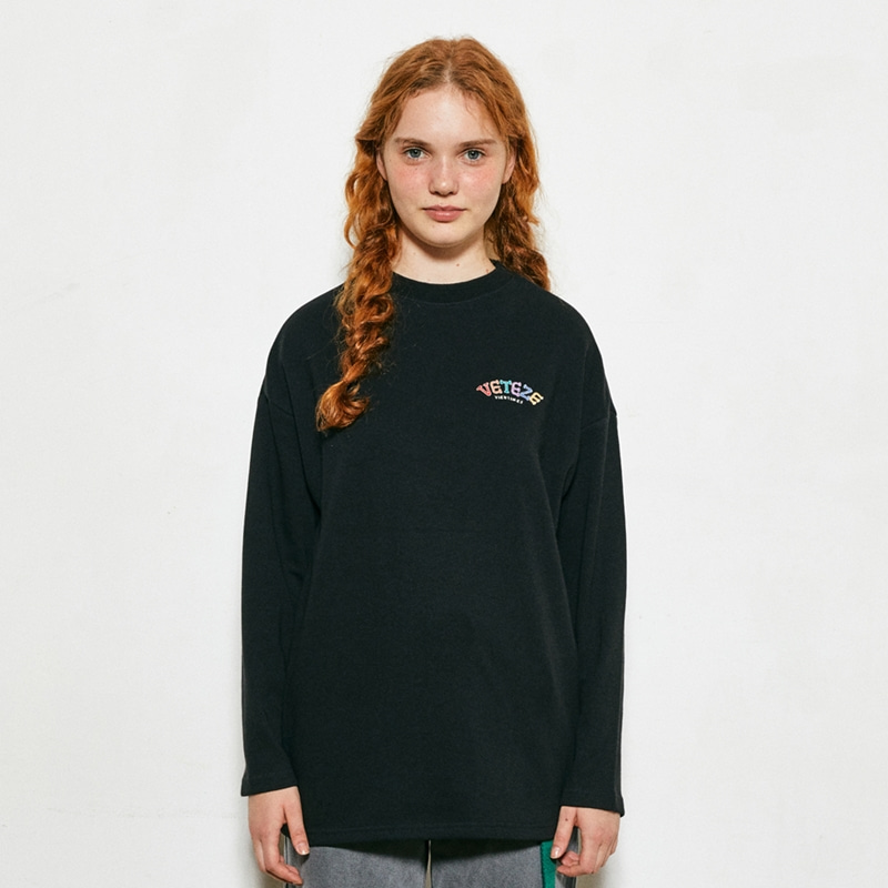 Rainbow Long Sleeve (black)