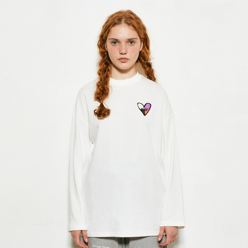 Heart Long Sleeve (ivory)