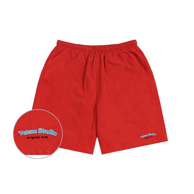 Studio Half Pants (red)