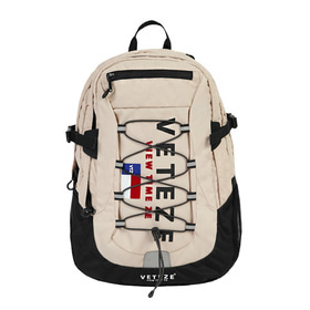 [1월31일 출고예정]Big Logo Backpack (beige)