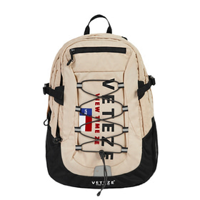 [2월21일 출고예정]Big Logo Backpack (beige)
