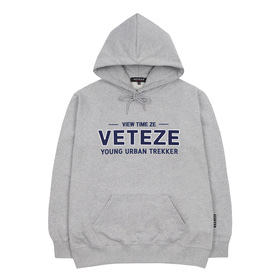 Authentic Logo Hood (Gray)