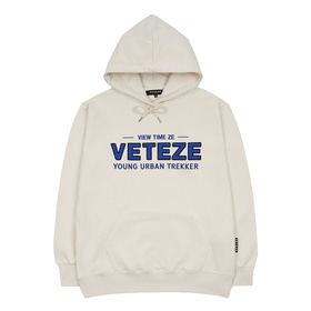 Authentic Logo Hood (Ivory)