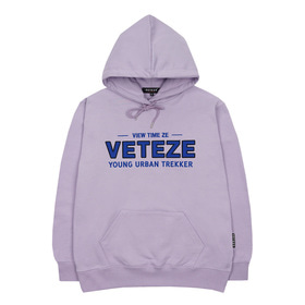 Authentic Logo Hood (Light Purple)