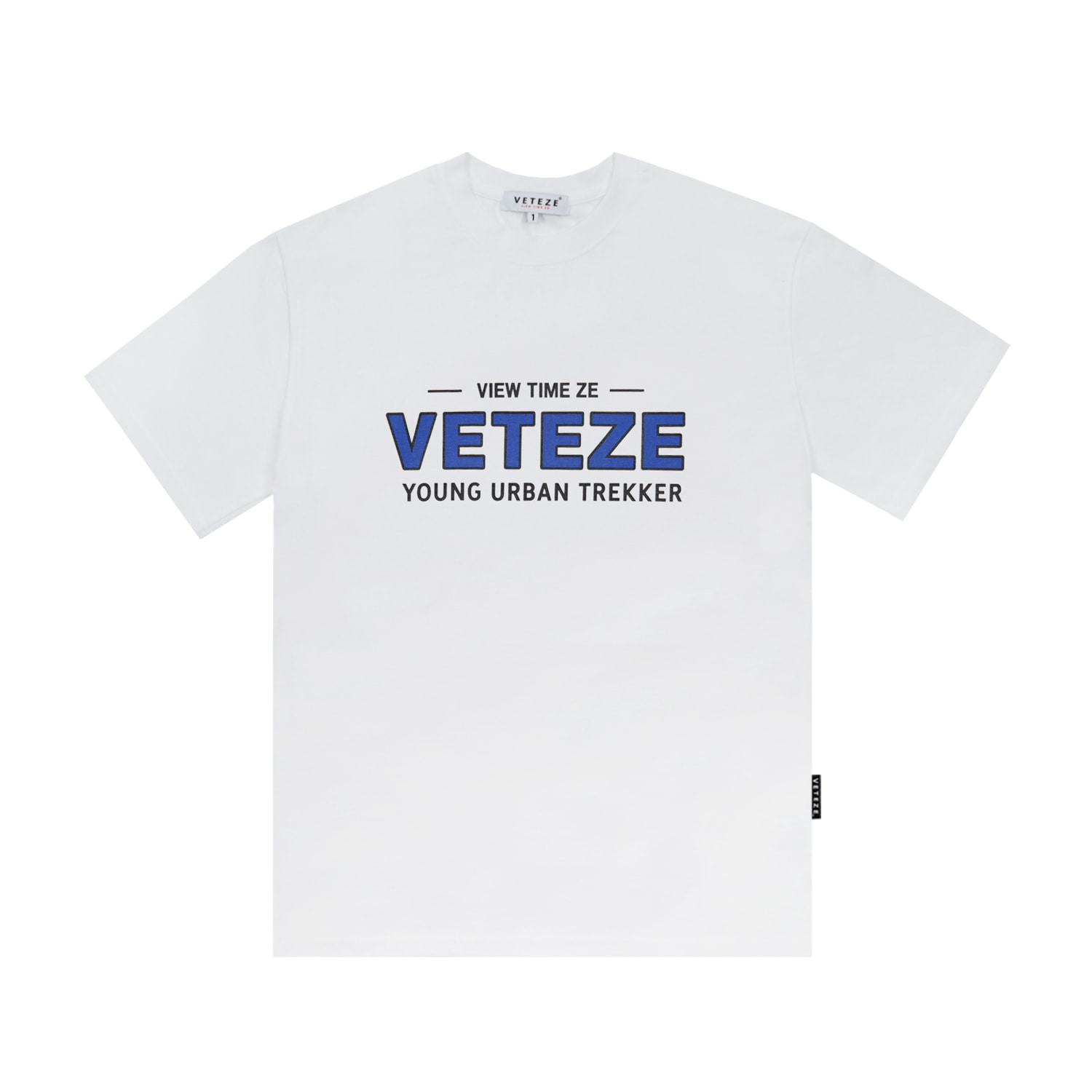 Authentic Half T-Shirt (White)