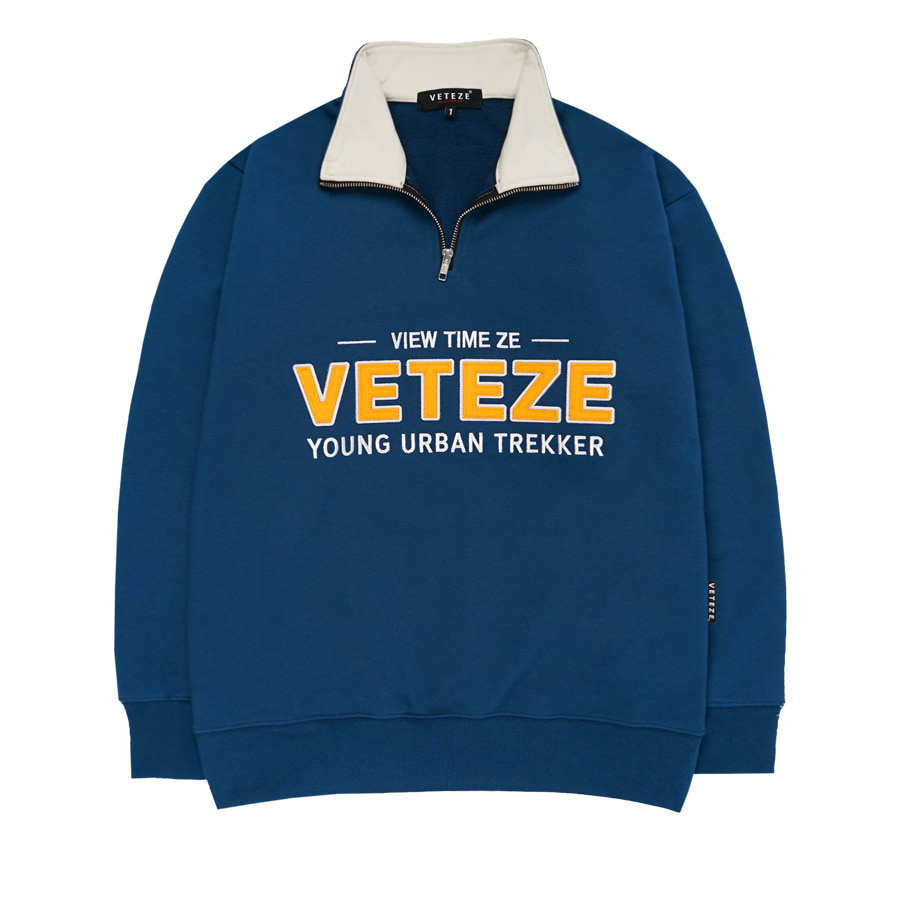 Authentic Half Pullover (Deep Blue)