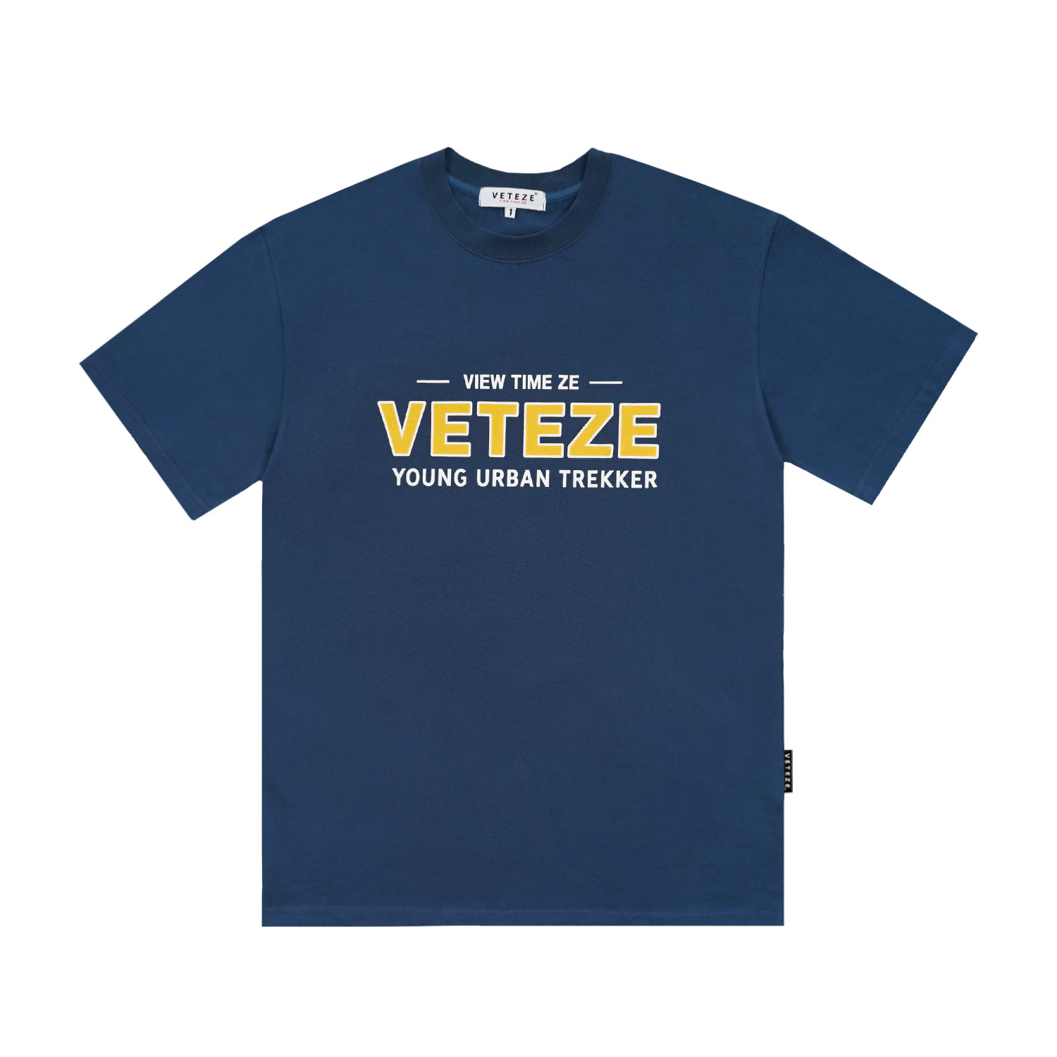 (5월24일 출고예정)Authentic Half T-Shirt (Deep Blue)
