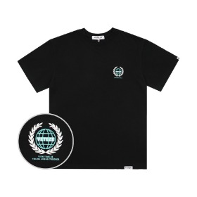 Earth Logo Campaign T-Shirts (Black)