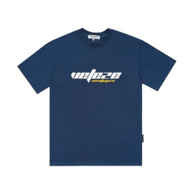 True Up Half T-Shirt (Deep Blue)