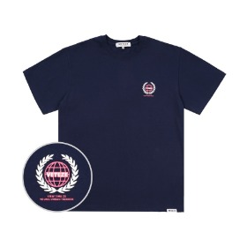 Earth Logo Campaign T-Shirts (Navy)