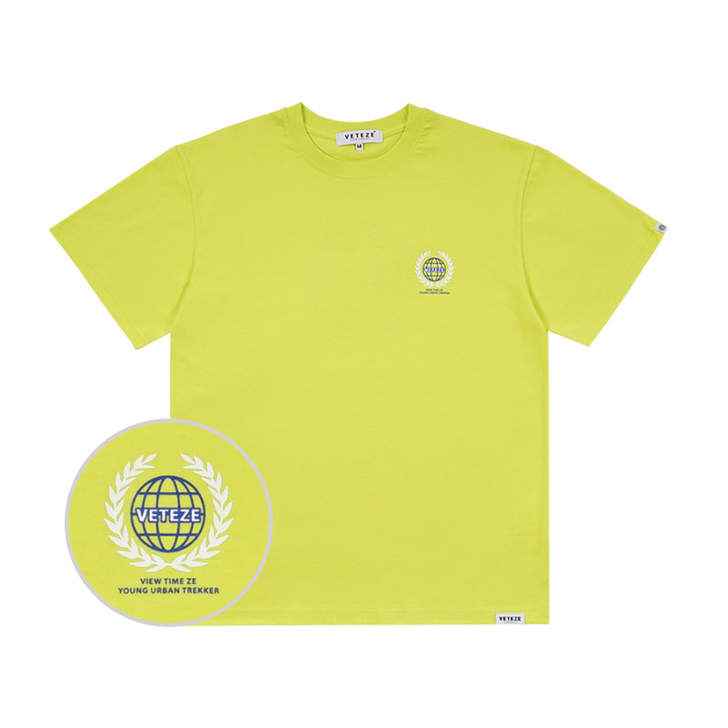 Earth Logo Campaign T-Shirts (neon)