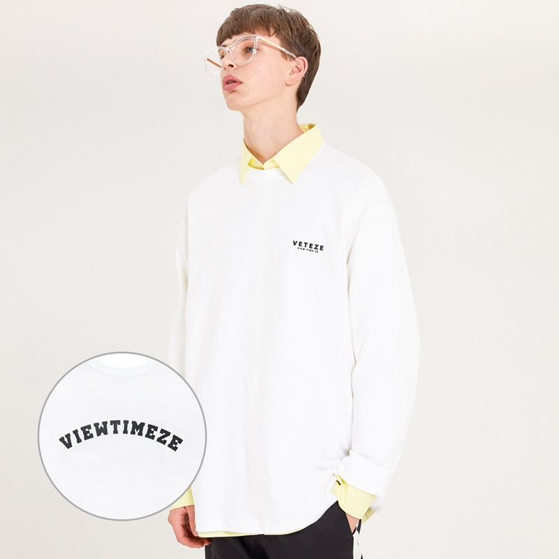 [MID-SEASON]Arch Logo Sleeve (white)