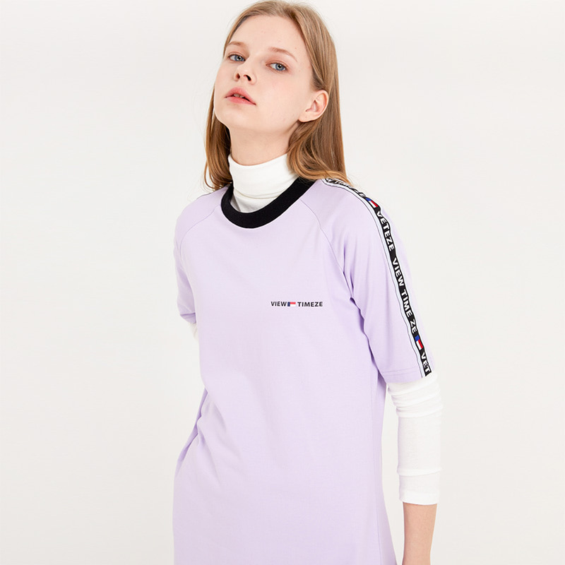 [MID-SEASON]Time Basic Onepiece (purple)