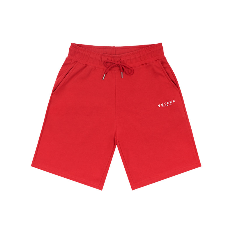 [MID-SEASON]Signature Logo Shorts (red)
