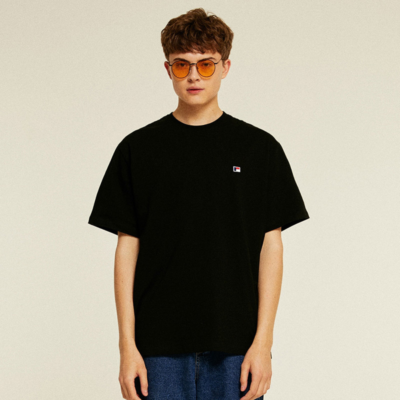 Mini Logo Half T-Shirts (black)