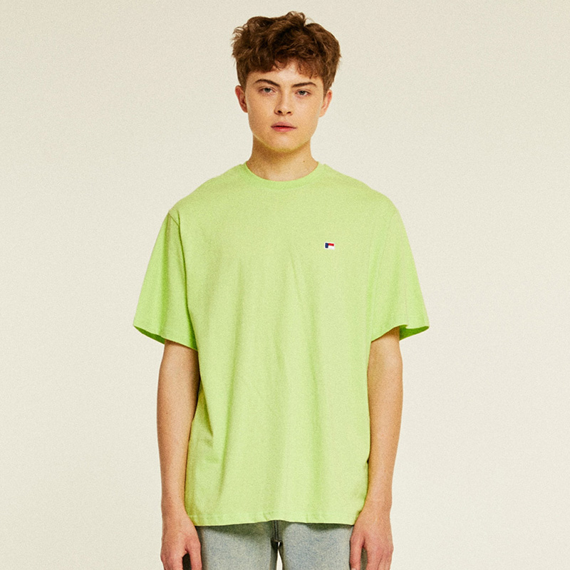 Mini Logo Half T-Shirts (lime)