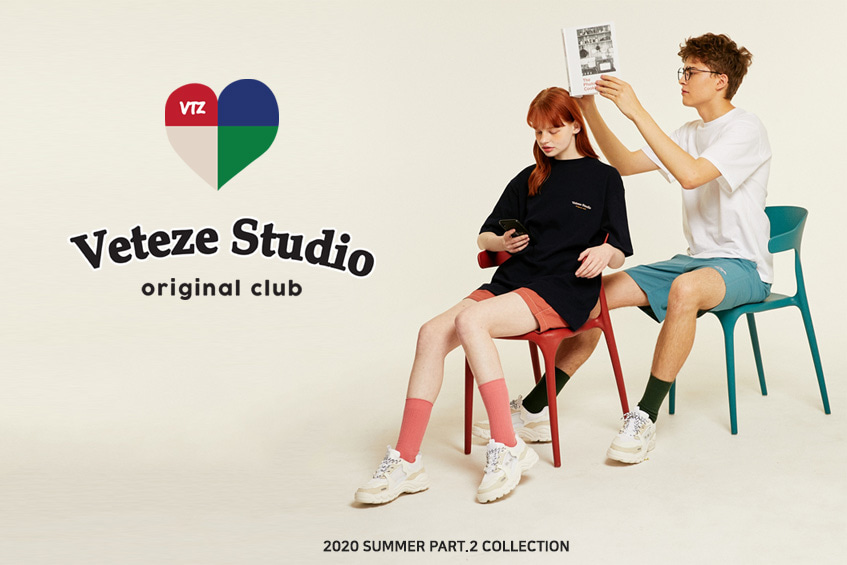"The VETEZE 2020 Summer Concept Theme ""VETEZE STUDIO"""
