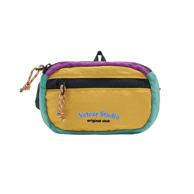 [Season Off] Studio Mini Waist Bag (mustard)