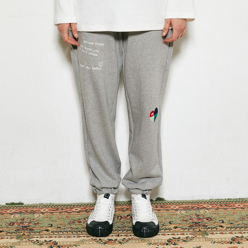 Rainbow Sweat Pants (gray)