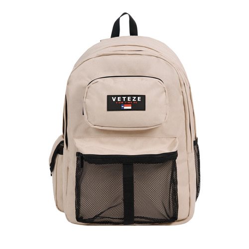 Retro Sport Bag (beige)