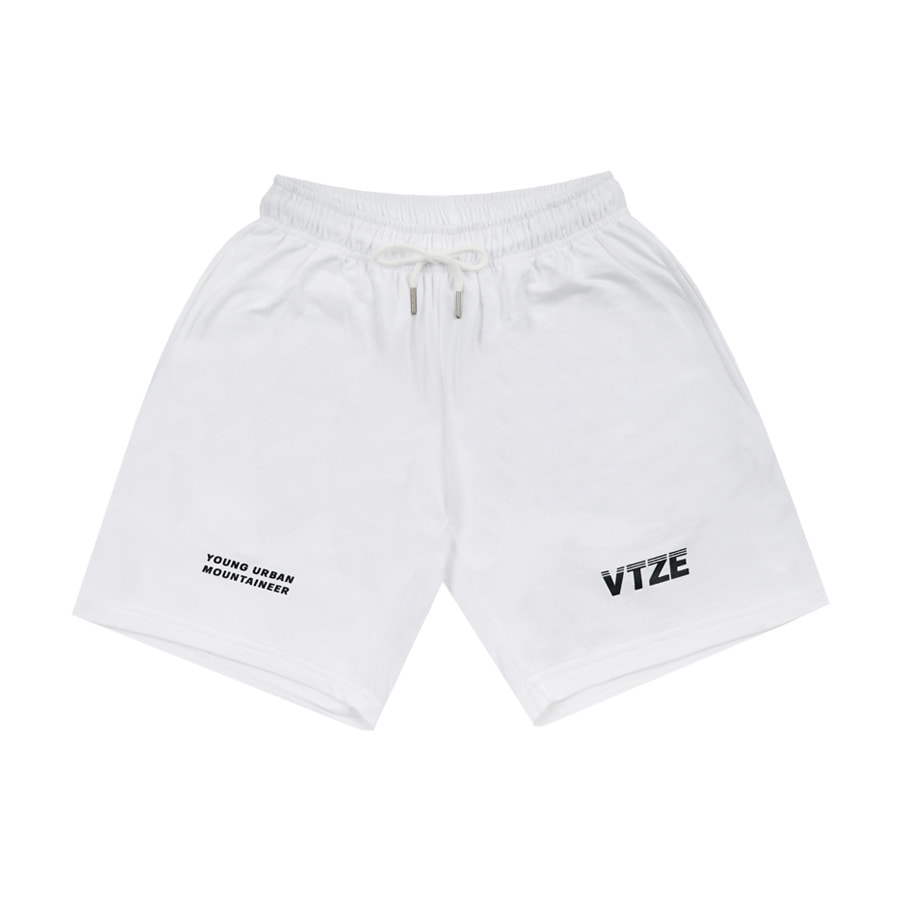 Urban Half Pants (White)