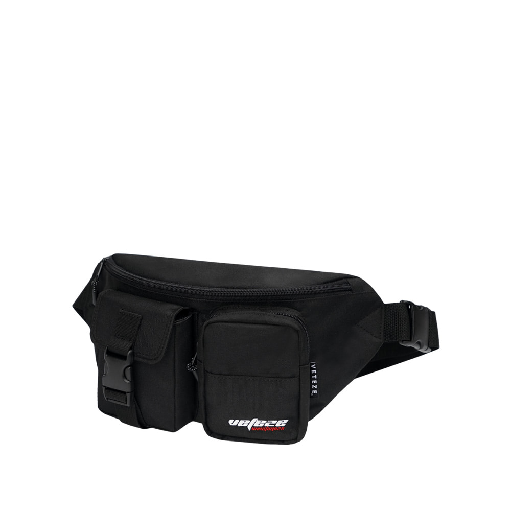 [바캉스 기획전]True Up Waist Bag (Black)