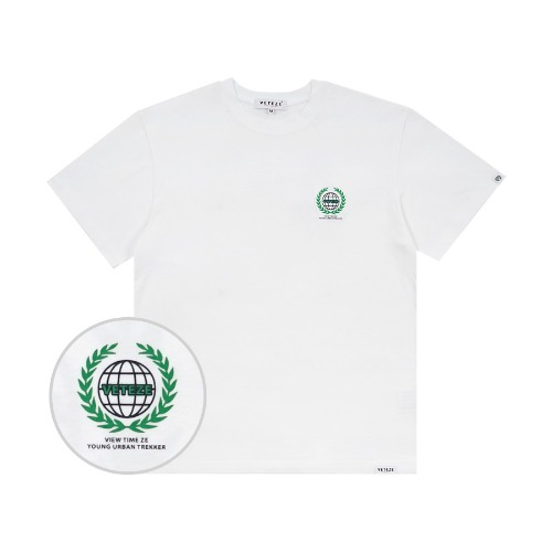 Earth Logo Campaign T-Shirts (white)