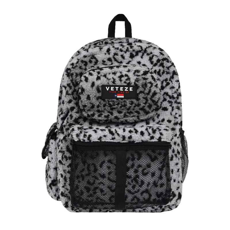 [New Color] Retro Sport Bag (leopard)