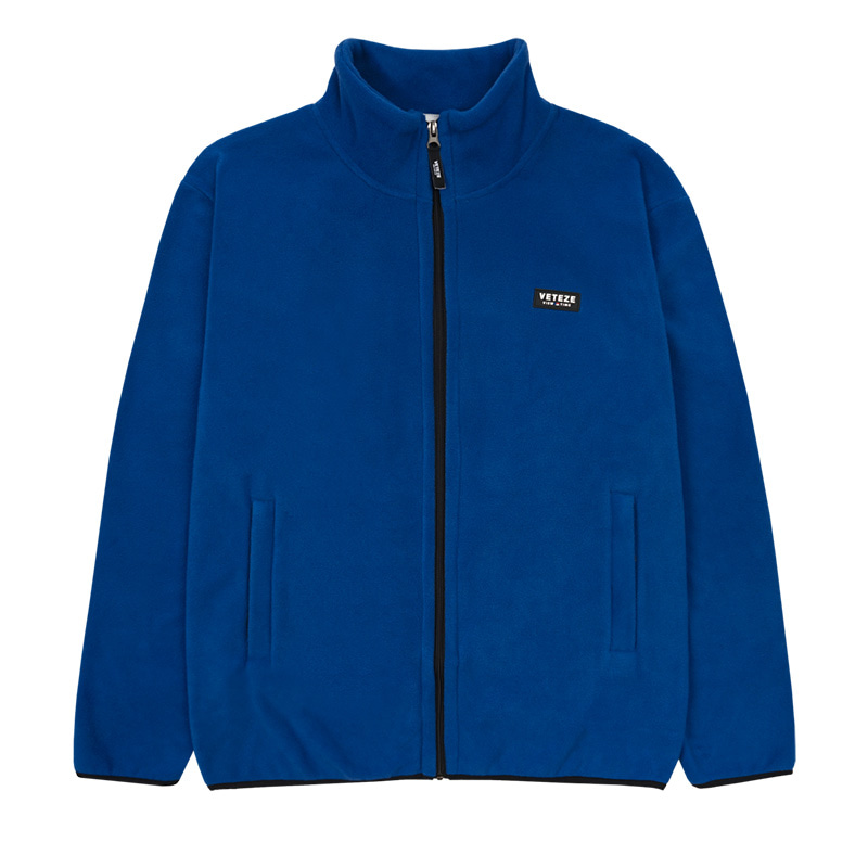 Basic Fleece Zipup (blue)