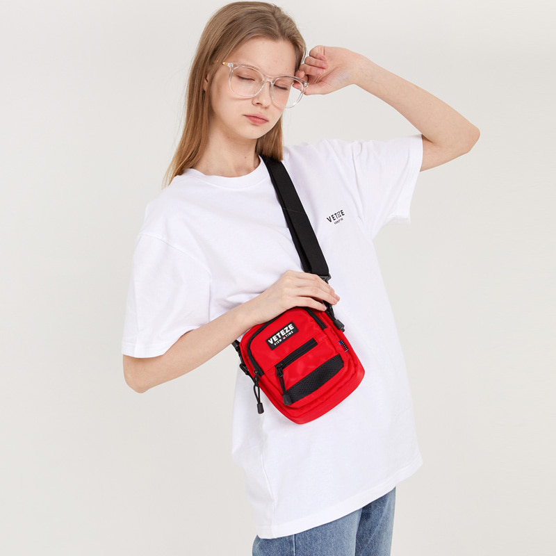 Util Cross Bag (red)