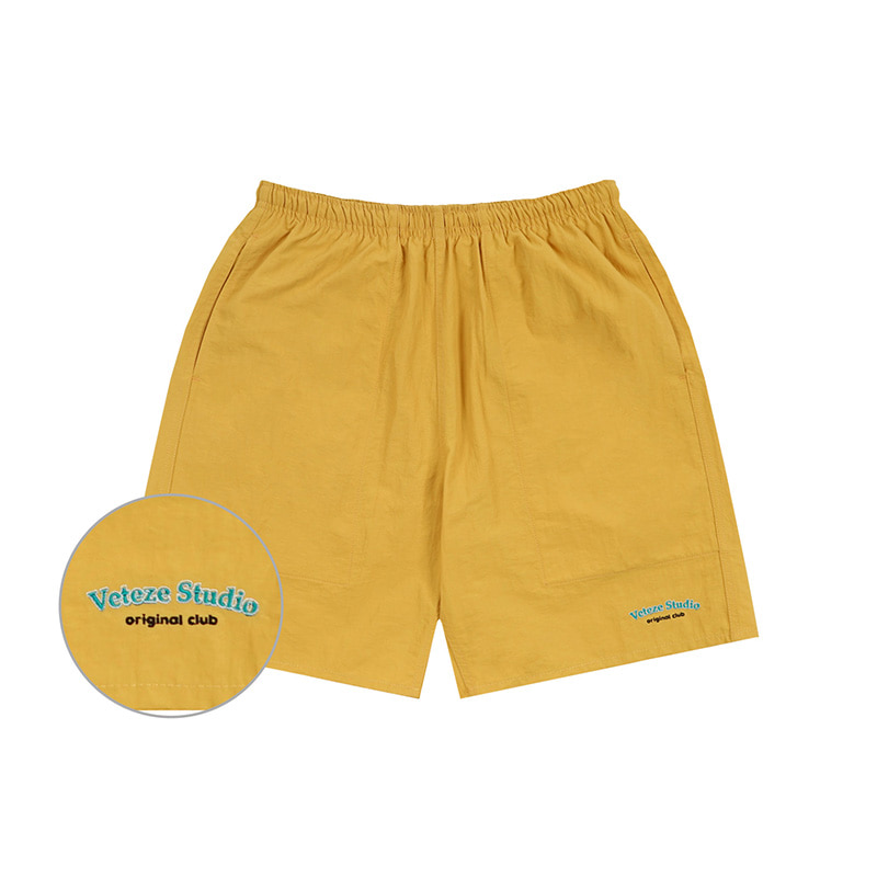 [Season Off] Studio Half Pants (mustard)