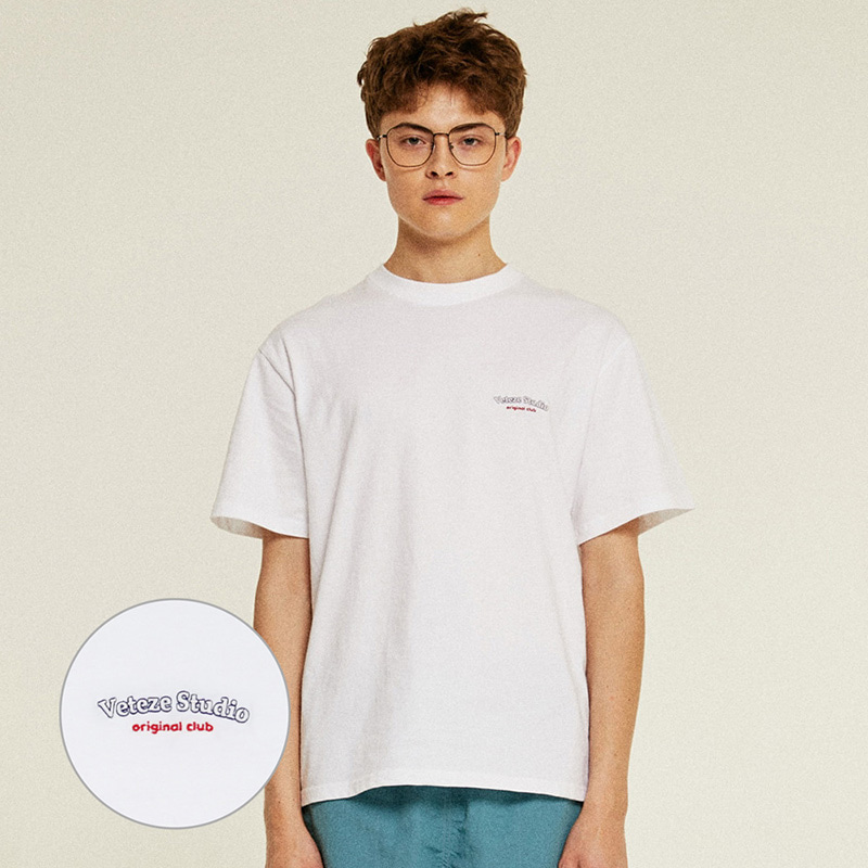 [Season Off] Studio Half T-Shirts (white)