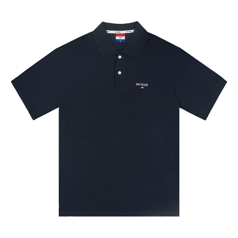 [Season Off] Basic PK T-Shirts (navy)