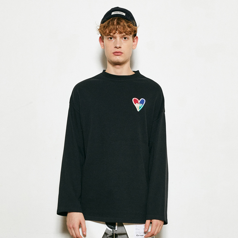 Heart Long Sleeve (black)